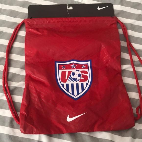 Nike US Soccer drawstring bag NWT. M 5b1458ad1b3294ca6a5decce 19cb12c01c03b